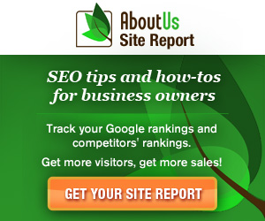 AboutUs Gratis On Page SEO Rapport
